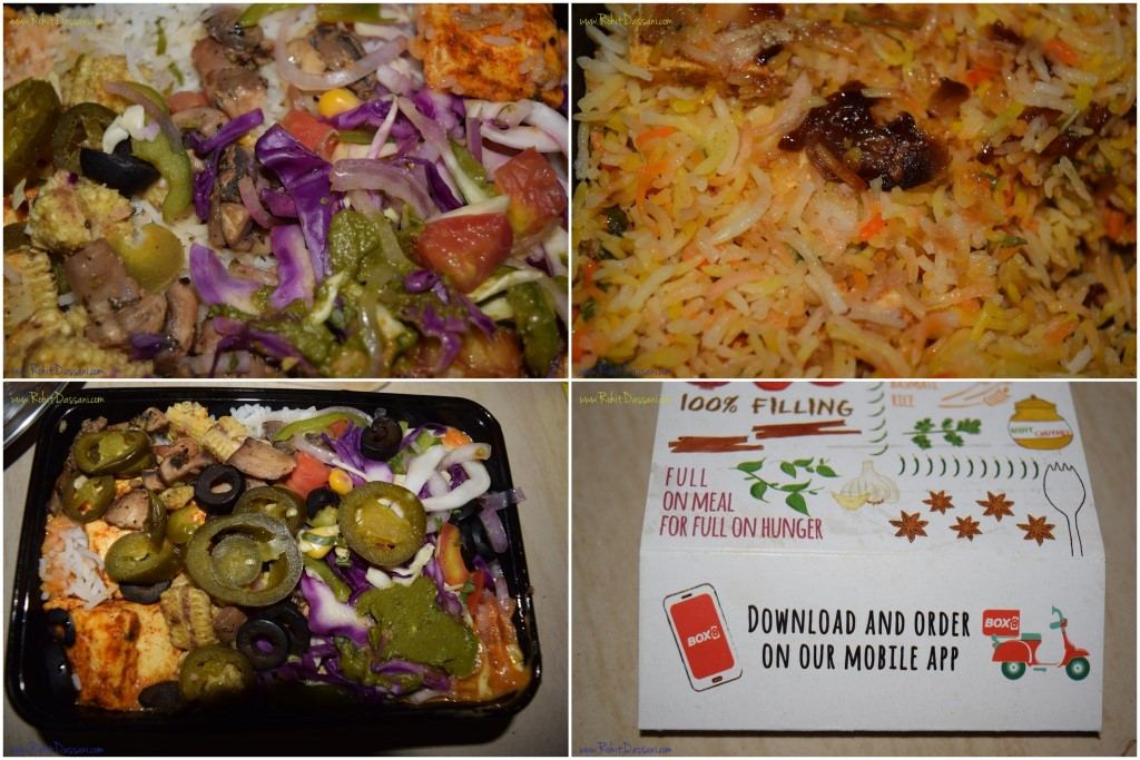 Box8 food review by Rohit Dassani