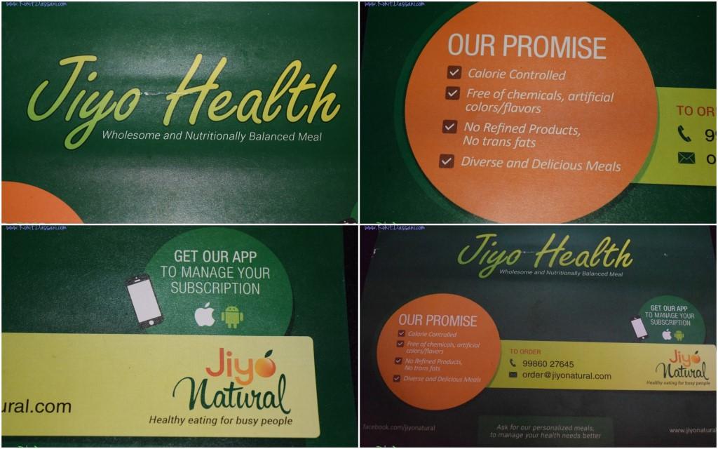 Jiyo Natural Rohit Dassani Balanced Diet