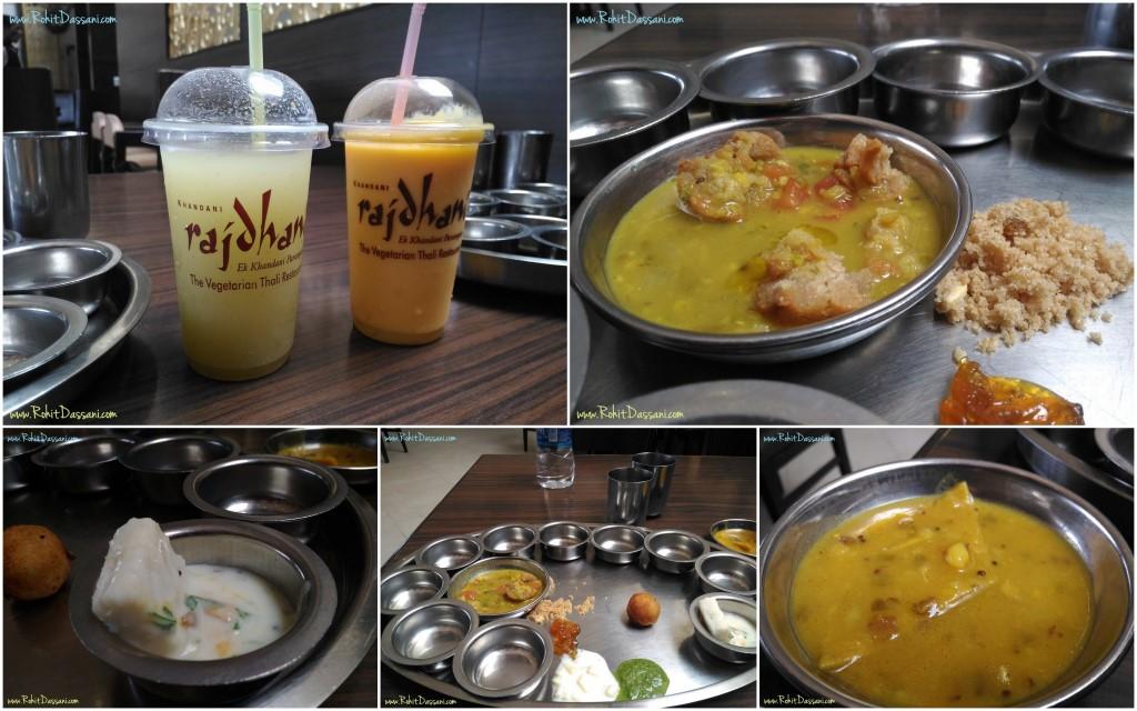 Rajdhani Thali - Rajasthani food - Rohit Dassani 02