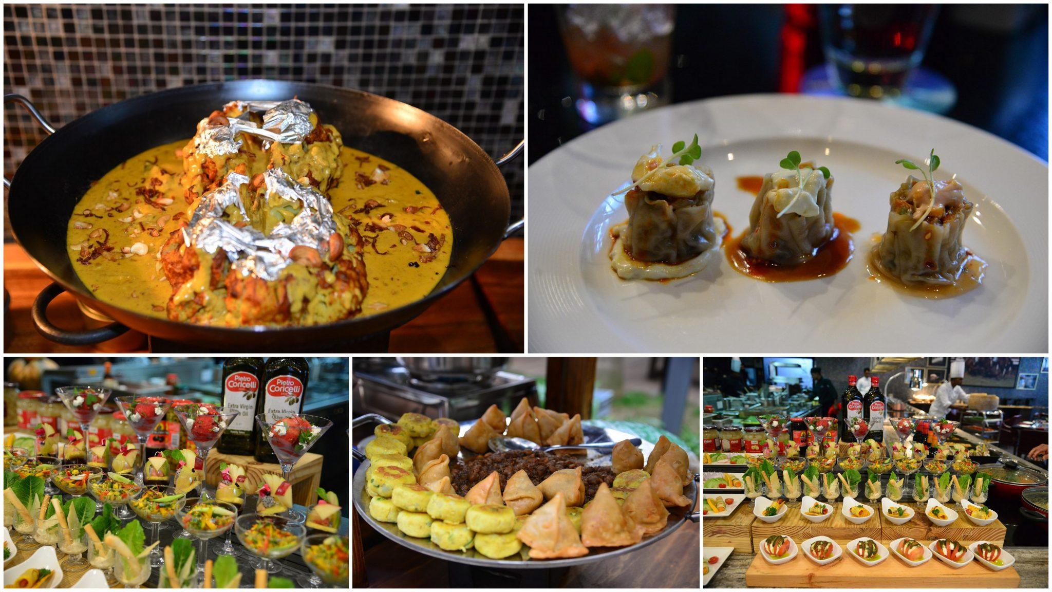 Lush - veg buffet