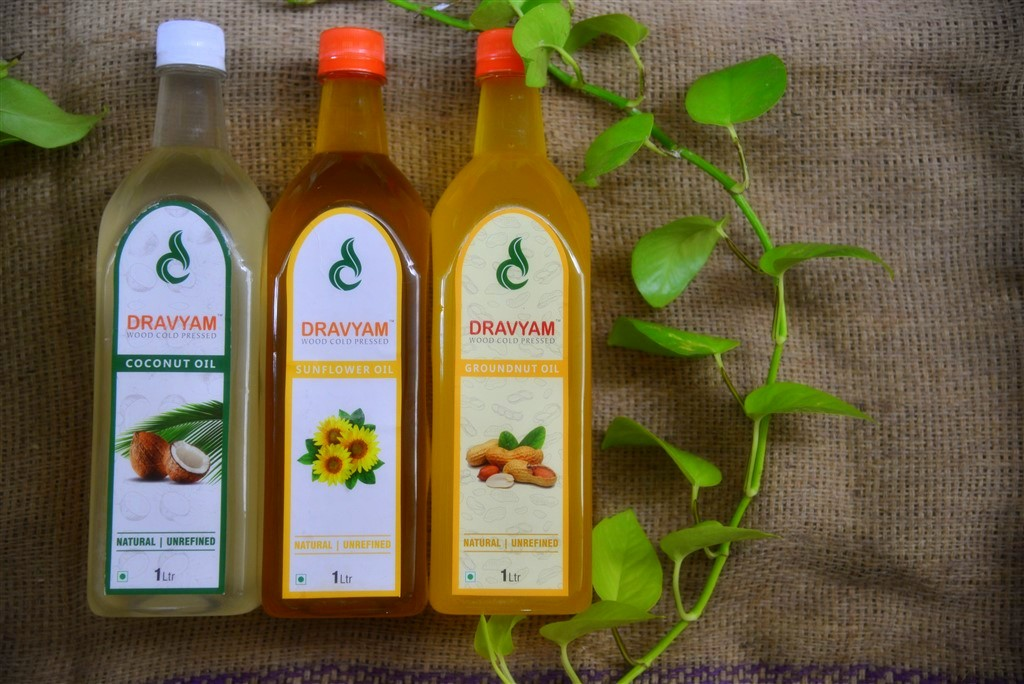 Dravyam - Wood Cold Pressed Oil